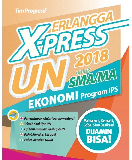 Erlangga X-Press Un Sma/Ma 2018 Ekonomi